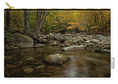 Fall On The Gale River Carry-all Pouch