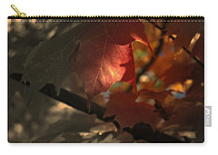 Carry-all Pouch featuring the photograph Fall Or Not by Richard Ricci