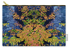 Fall Painting Twins Carry-all Pouch by Kevin Blackburn