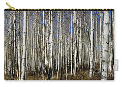 Fall Quaking Aspens Panorama Carry-all Pouch