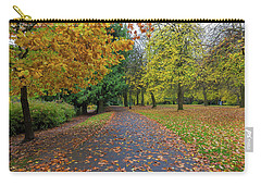 Fall Season At Laurelhurst Park In Portland Oregon Carry-all Pouch