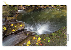 Fall Season At Rock Creek Carry-all Pouch