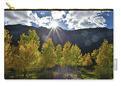 Fall Sun Setting Over Mt. Charleston Carry-all Pouch