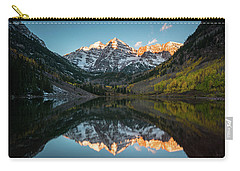 Fall Sunrise At Maroon Bells Carry-all Pouch
