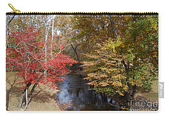 Carry-all Pouch featuring the photograph Fall Transition by Eric Liller