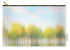 Fall Trees On Flooded Lake Carry-all Pouch by Robert FERD Frank