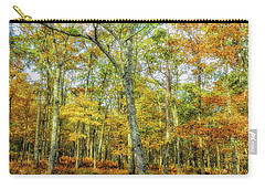 Fall Yellow Carry-all Pouch
