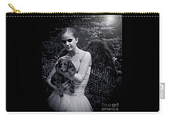 Carry-all Pouch featuring the photograph Fallen Angel by Rebecca Margraf