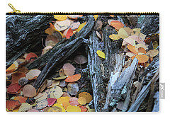 Carry-all Pouch featuring the photograph Fallen by David Chandler