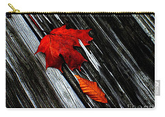 Carry-all Pouch featuring the photograph Fallen by Elfriede Fulda