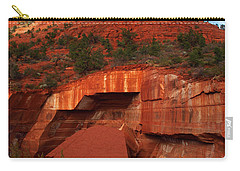 Carry-all Pouch featuring the photograph Fallen by James Peterson