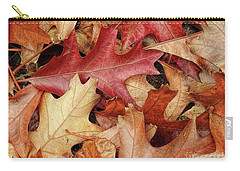 Carry-all Pouch featuring the photograph Fallen by Peggy Hughes