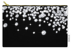 Falling Diamonds Carry-all Pouch