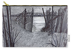 Falling Fence Carry-all Pouch