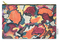 Carry-all Pouch featuring the painting Falling For You by Esther Newman-Cohen