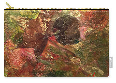 Carry-all Pouch featuring the mixed media Falling In Love  by Delona Seserman