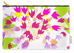 Falling Leaves Carry-all Pouch by Barbara Moignard