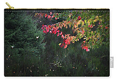 Falling Leaves Carry-all Pouch by Katie Wing Vigil