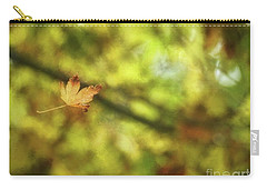 Carry-all Pouch featuring the photograph Falling by Peggy Hughes