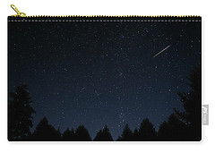 Carry-all Pouch featuring the photograph Falling Star by Katie Wing Vigil