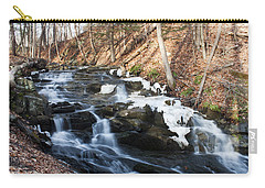 Falling Waters In February #1 Carry-all Pouch