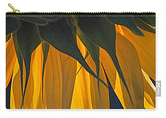 Falling Yellow  Carry-all Pouch