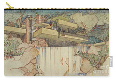 Frank Lloyd Wright Carry-All Pouches