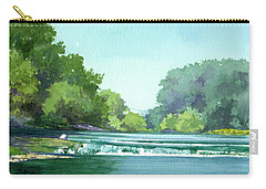 Falls At Estabrook Park Carry-all Pouch