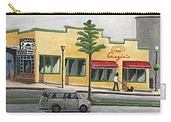Carry-all Pouch featuring the painting Falls Church by Victoria Lakes