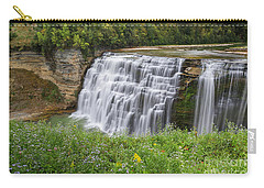 Autumn Flower Of Letchworth Middle Falls Carry-all Pouch