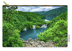 Falls From Above - Plitvice Lakes National Park, Croatia Carry-all Pouch