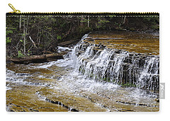 Falls Of The Au Train Carry-all Pouch