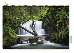 Falls On Canyon Creek Carry-all Pouch