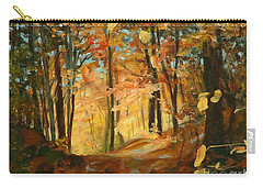 Fall's Radiance In Quebec Carry-all Pouch