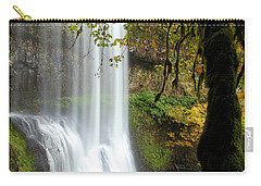 Falls Though The Trees Carry-all Pouch by Adam Jewell