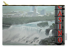 Falls View Carry-all Pouch by Kenneth M  Kirsch