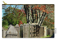 Carry-all Pouch featuring the photograph Familiar Fall by Lori Mellen-Pagliaro