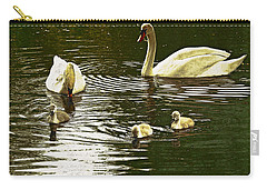 Carry-all Pouch featuring the photograph Family Day Out  by Fine Art By Andrew David