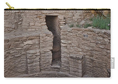 Carry-all Pouch featuring the photograph Family Kiva by Debby Pueschel