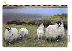 Family Of Sheep Carry-all Pouch