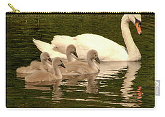 Family Swan  Carry-all Pouch