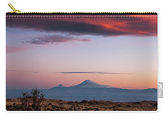 Famous Ararat Mountain During Beautiful Sunset As Seen From Armenia Carry-all Pouch