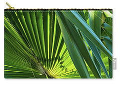 Fan Palm View 3 Carry-all Pouch by James Gay