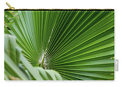 Fan Palm View 4 Carry-all Pouch by James Gay