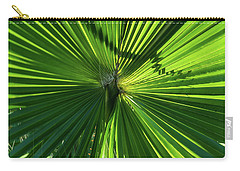 Fan Palm View Carry-all Pouch by James Gay