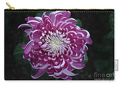 Fancy Chrysanthemum In Pink Carry-all Pouch