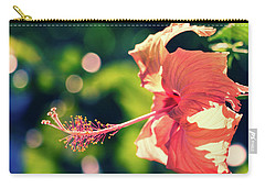Fancy Hibiscus Carry-all Pouch