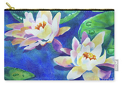Fancy Waterlilies Carry-all Pouch