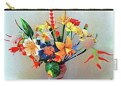 Fantastic Flowers Of The South Pacific Carry-all Pouch