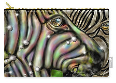 Fantastic Zebra Carry-all Pouch